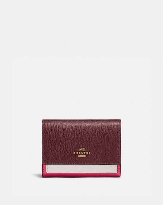 MEDIUM FLAP WALLET IN COLORBLOCK