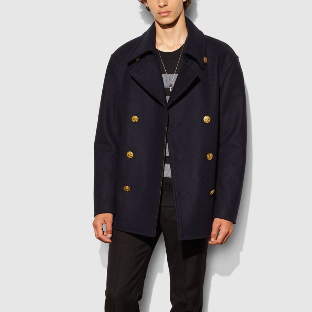 WOOL MARINERS COAT