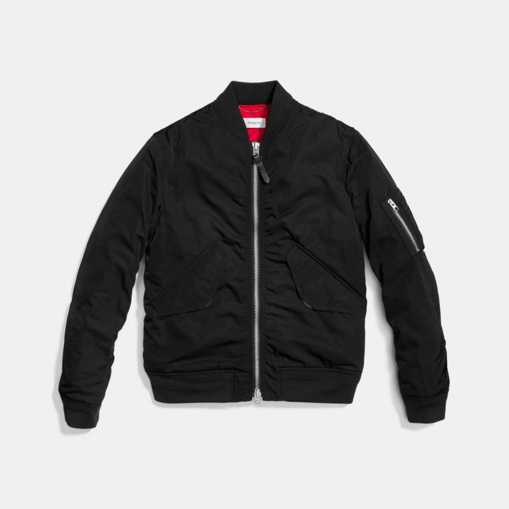 QUILTED MA-1 JACKET