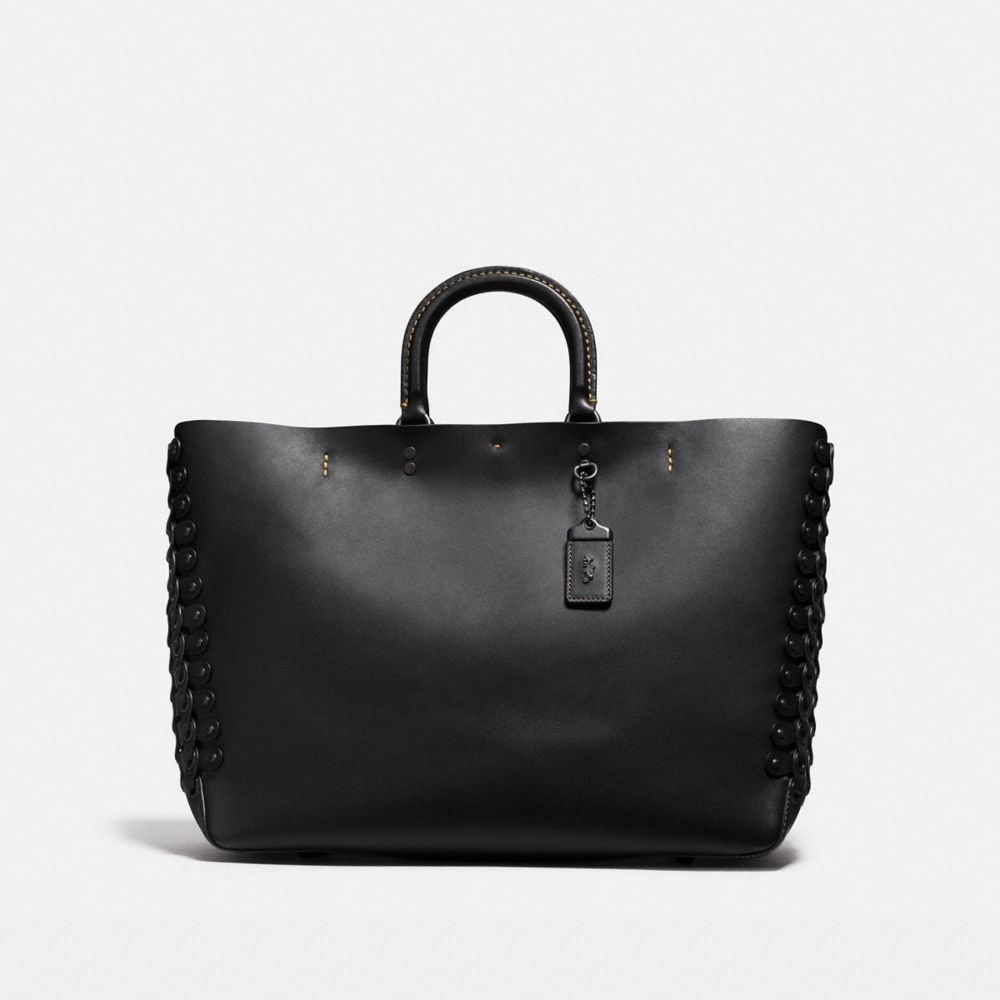 ROGUE TOTE IN LINK LEATHER