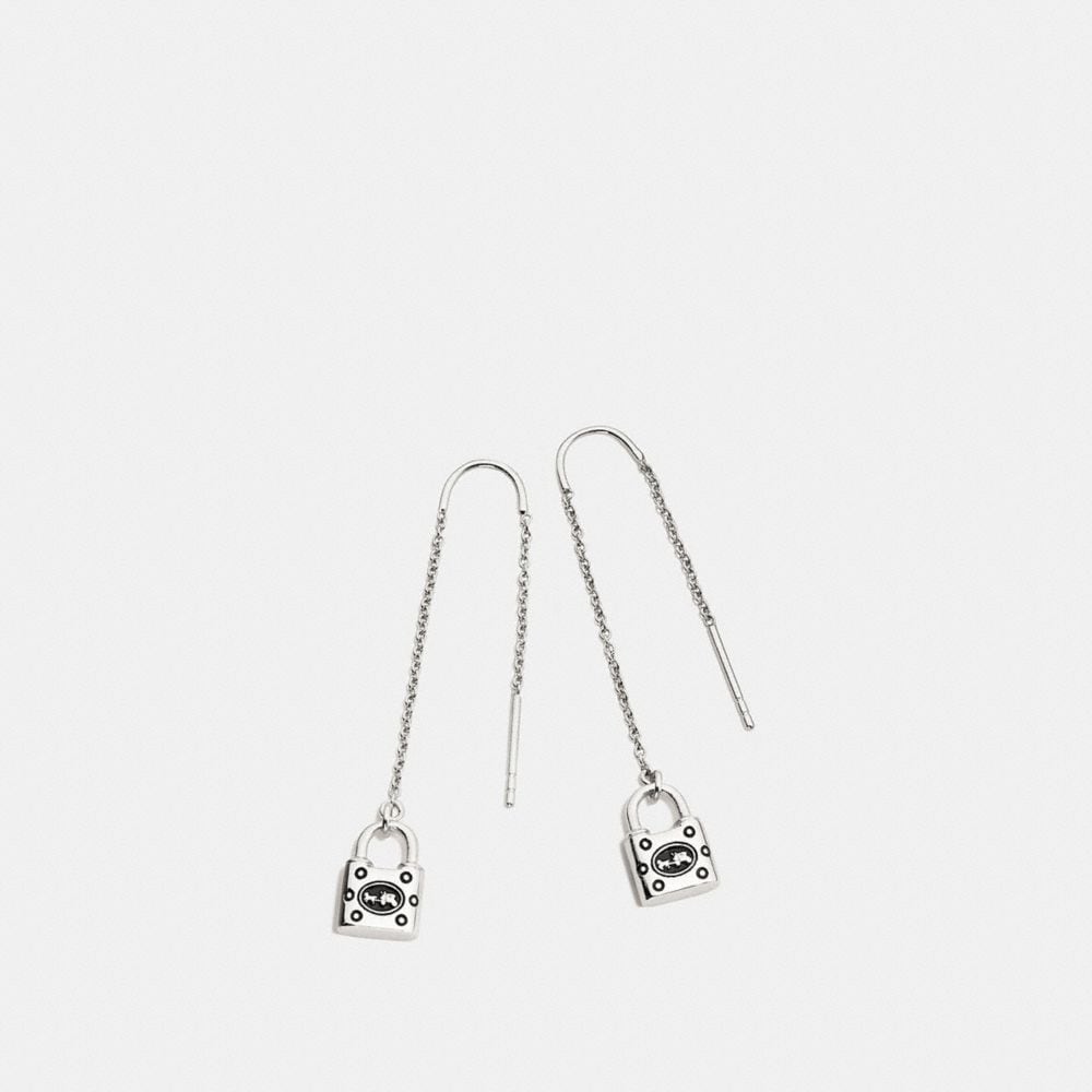 PADLOCK THREADER EARRING