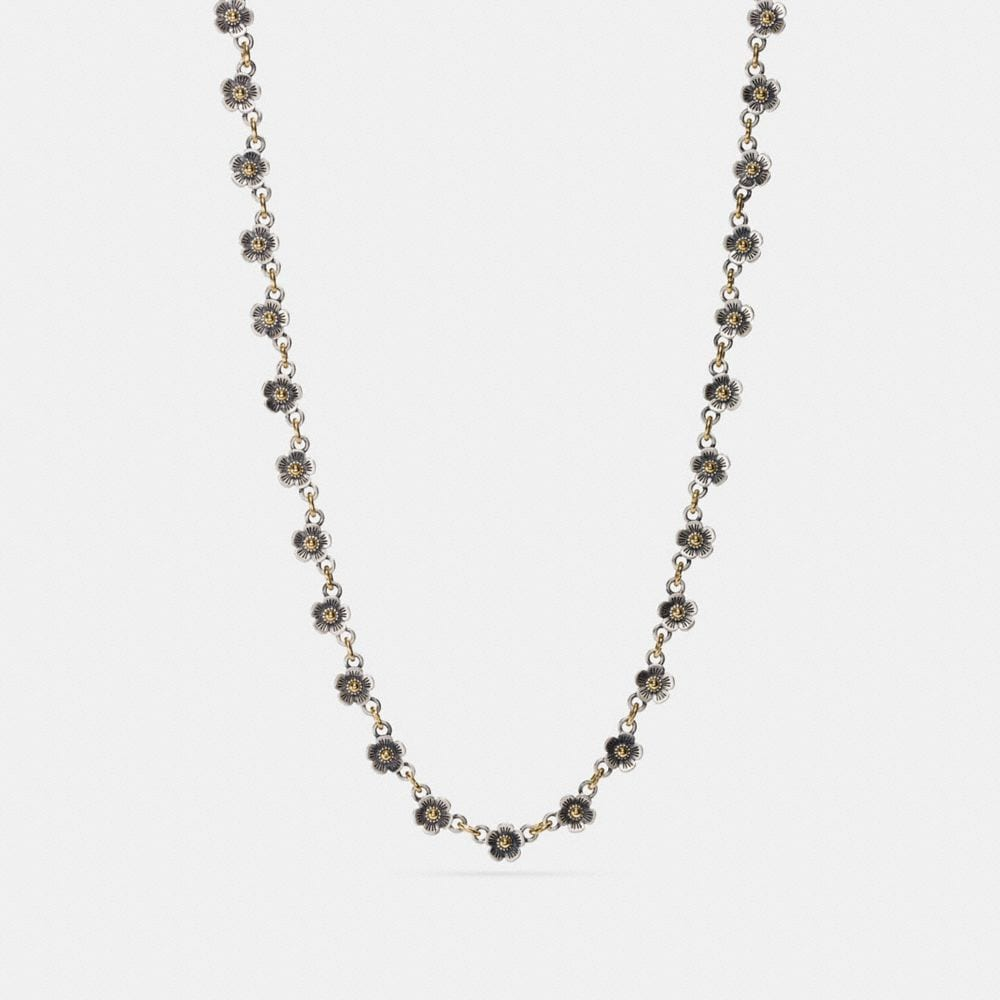 DITSY WILLOW FLORAL CHAIN NECKLACE