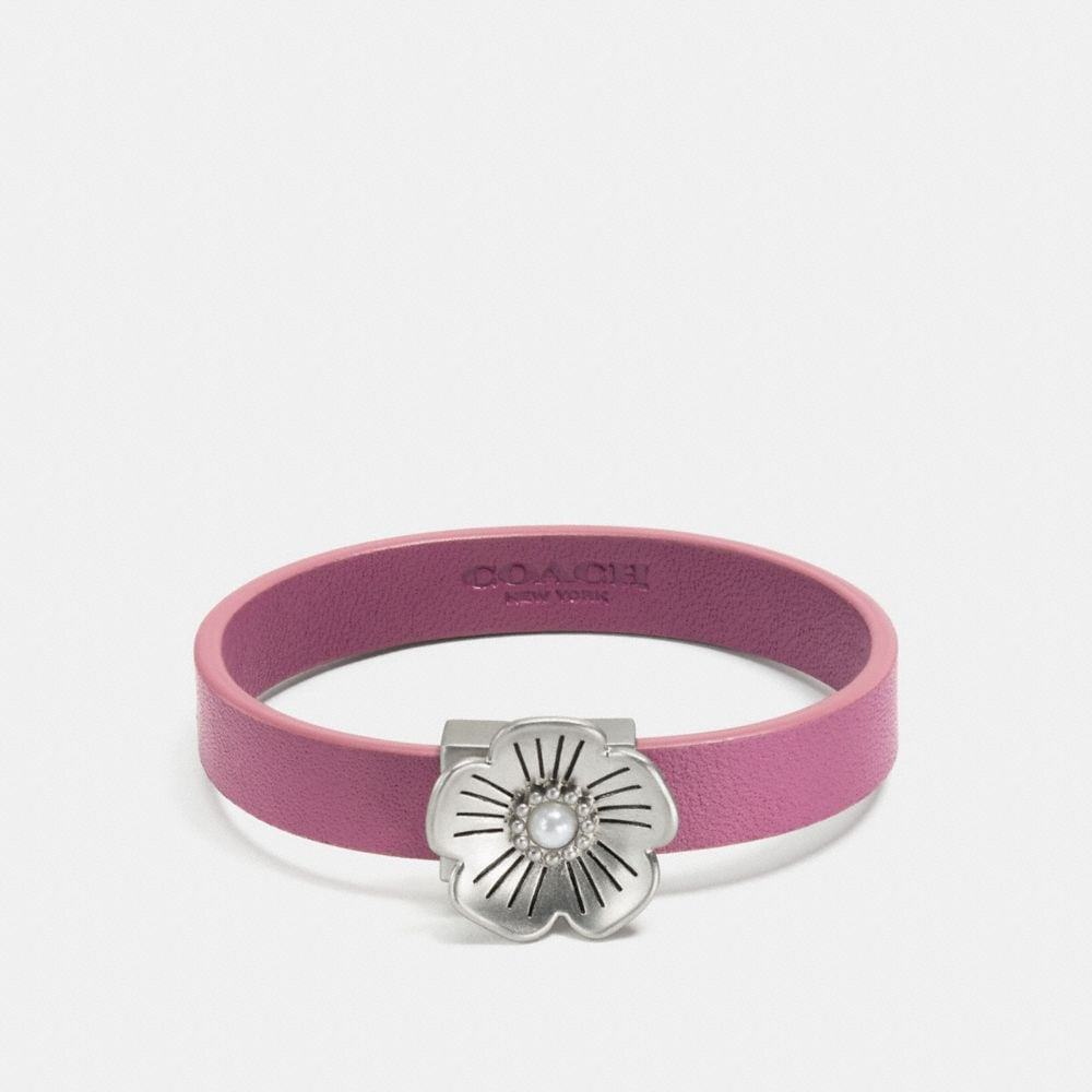 """TEA ROSE"" LEDER ARMBAND"