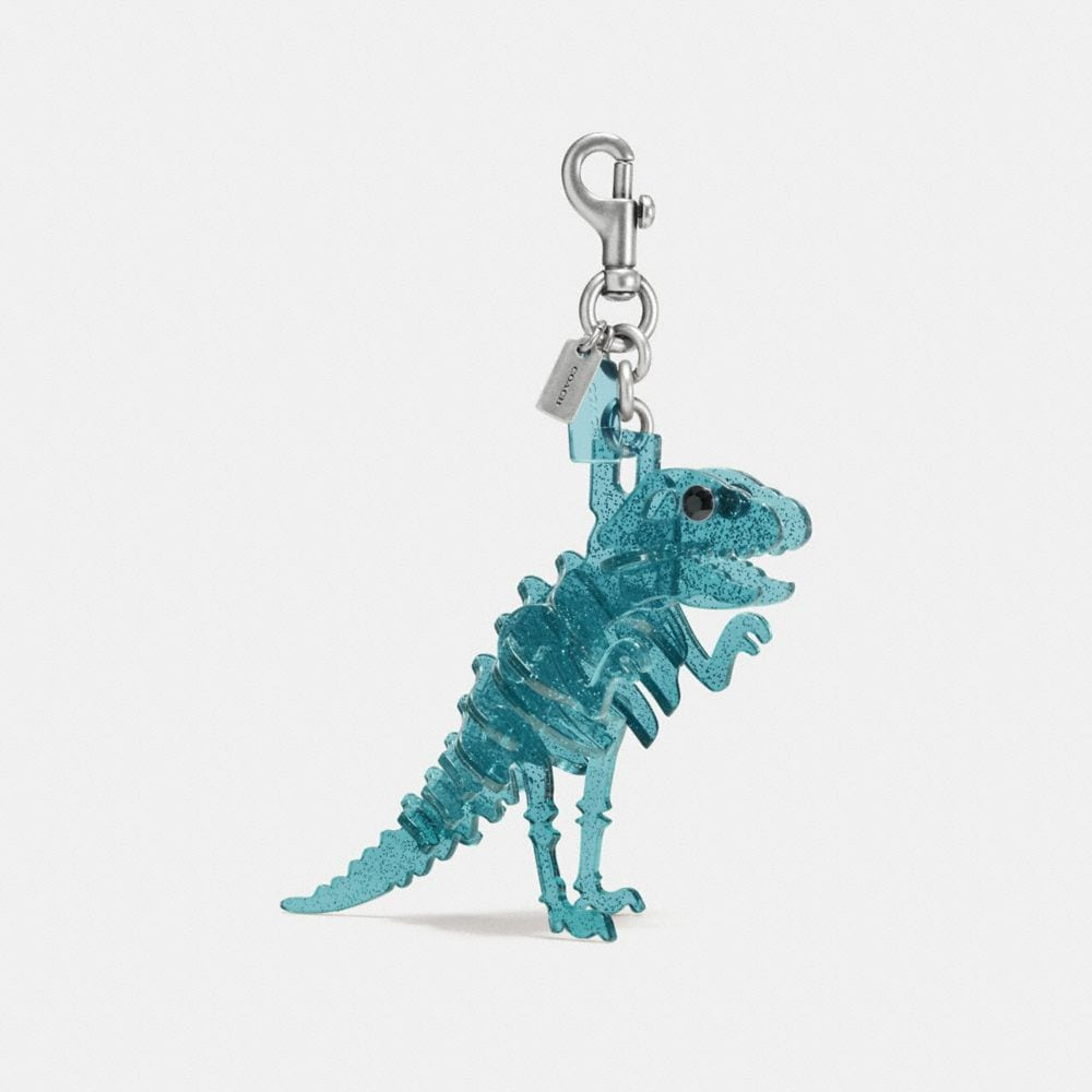 LUCITE REXY BAG CHARM