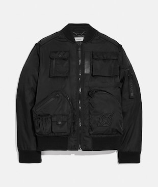 COACH X MICHAEL B. JORDAN 2-IN-1 MA-1 JACKET