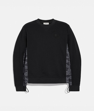 SWEAT-SHIRT EN NYLON COACH X MBJ
