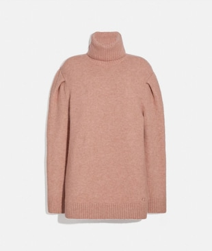 STATEMENT SLEEVE TURTLENECK
