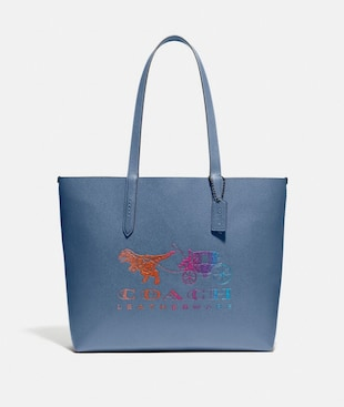 HIGHLINE TOTE WITH REXY AND CARRIAGE