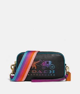 SADIE CROSSBODY CLUTCH WITH REXY AND CARRIAGE