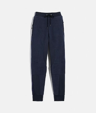 HORSE AND CARRIAGE FLEECE TRACK PANTS