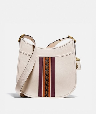 EMERY CROSSBODY WITH VARSITY STRIPE