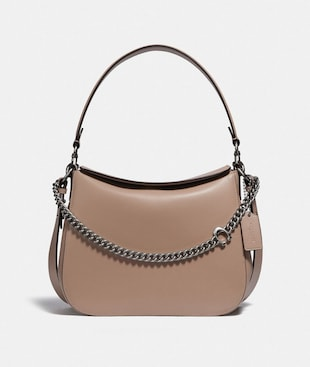 SIGNATURE CHAIN HOBO