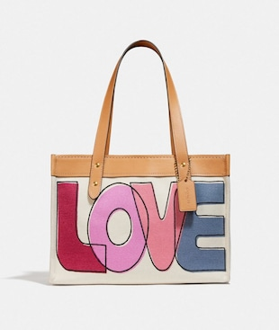 BORSA LARGA 33 CON STAMPA LOVE