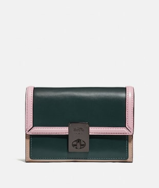 HUTTON WALLET IN COLORBLOCK