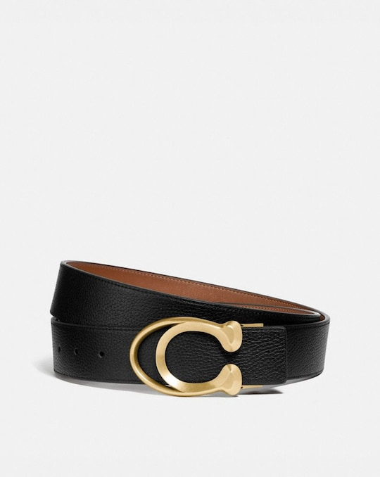 SIGNATURE BUCKLE BELT, 38MM