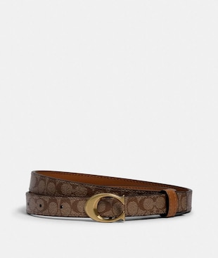SIGNATURE BUCKLE BELT, 18MM