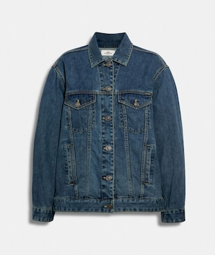 SIGNATURE RELAXED DENIM JACKET