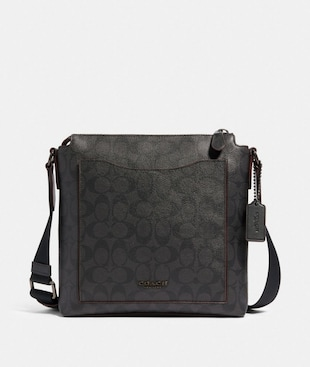 BECKETT POCKET CROSSBODY IN SIGNATURE CANVAS