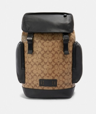RANGER BACKPACK IN SIGNATURE CANVAS