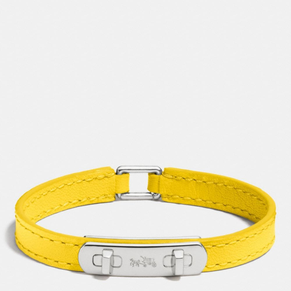 LEATHER SWAGGER BRACELET