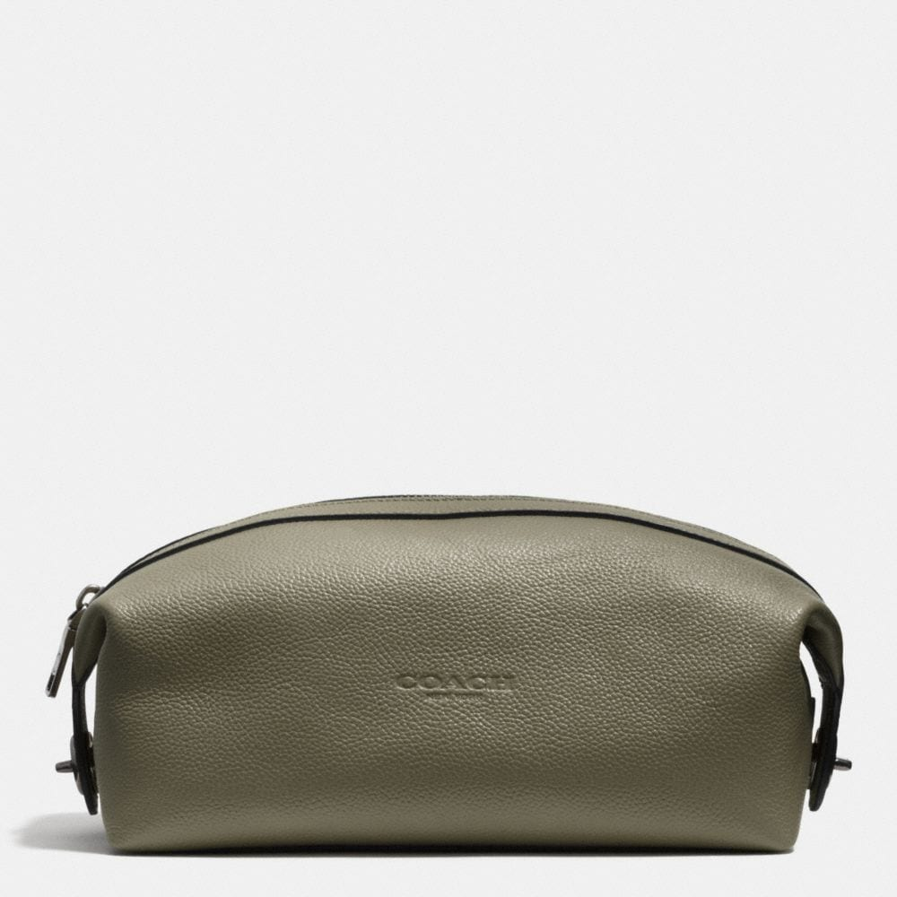 DOPP KIT IN REFINED PEBBLE LEATHER