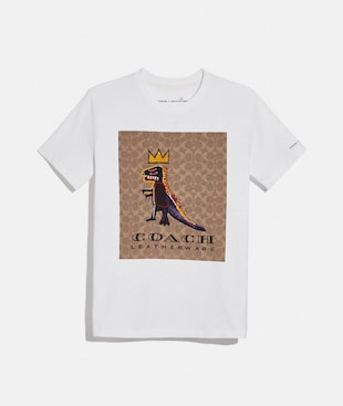 COACH X JEAN-MICHEL BASQUIAT SIGNATURE T-SHIRT