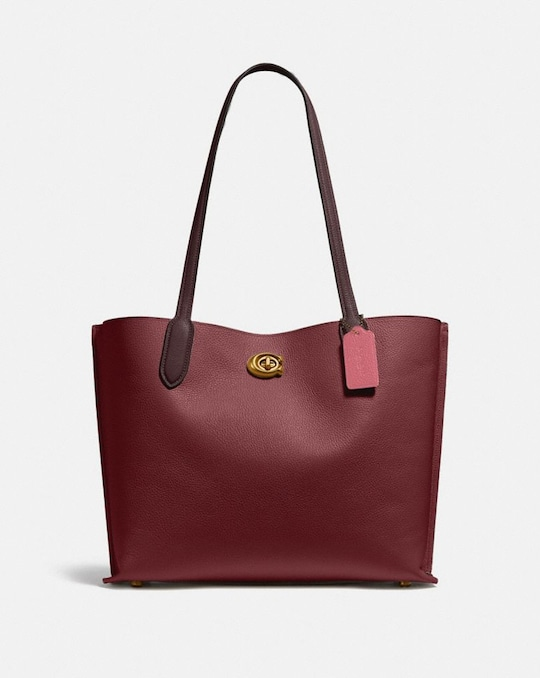 WILLOW TOTE IN COLORBLOCK
