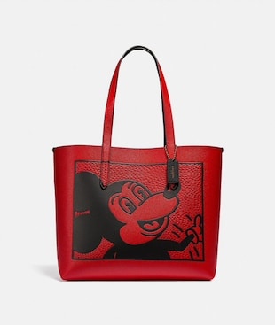 BORSA LARGA HIGHLINE DISNEY TOPOLINO X KEITH HARING