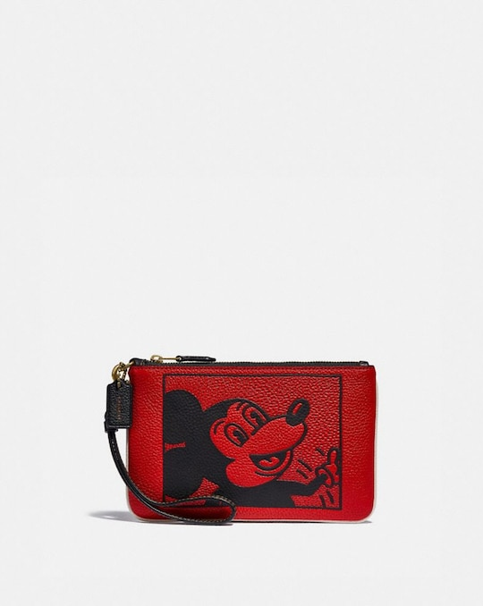 DISNEY MICKEY MOUSE X KEITH HARING SMALL WRISTLET