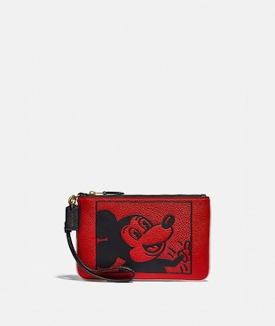 BOLSO POUCH PEQUEÑO DISNEY MICKEY MOUSE X KEITH HARING