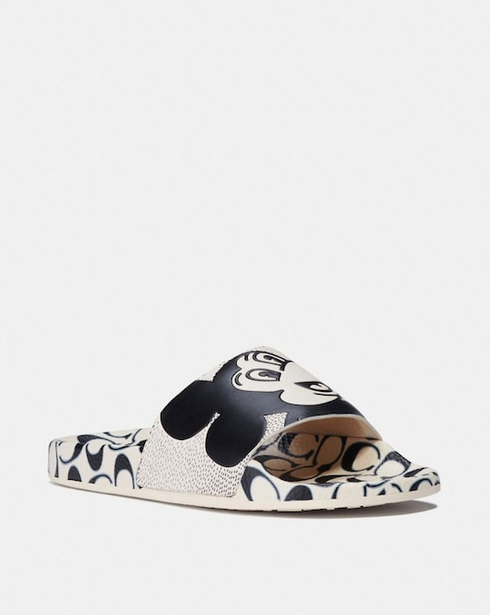 DISNEY MICKEY MOUSE X KEITH HARING SLIPPER