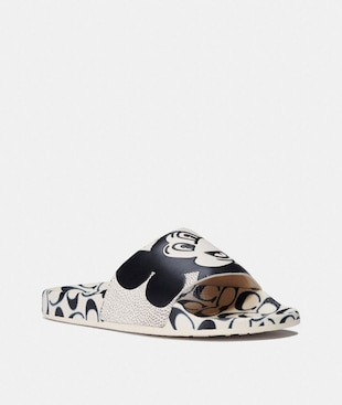 DISNEY MICKEY MOUSE X KEITH HARING SLIDE