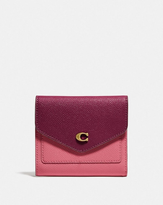 WYN SMALL WALLET IN COLORBLOCK