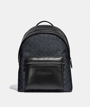 CHARTER BACKPACK IN SIGNATURE CANVAS