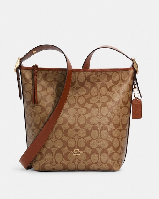 VAL DUFFLE IN SIGNATURE CANVAS