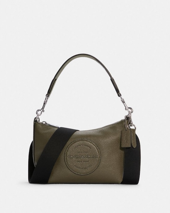 DEMPSEY SHOULDER BAG WITH PATCH