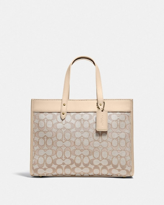 BORSA LARGA FIELD 30 IN JACQUARD SIGNATURE