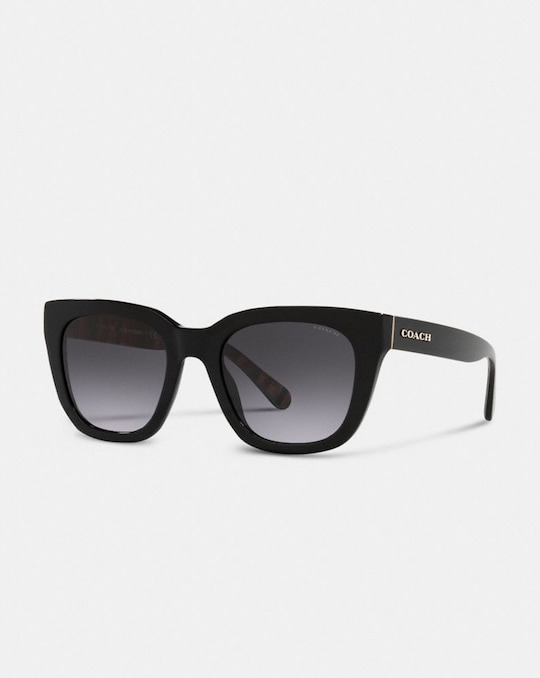 LEGACY STRIPE SQUARE SUNGLASSES
