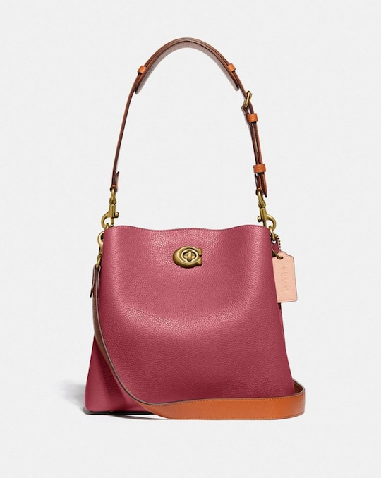 SAC SEAU WILLOW EN COLOR BLOCK