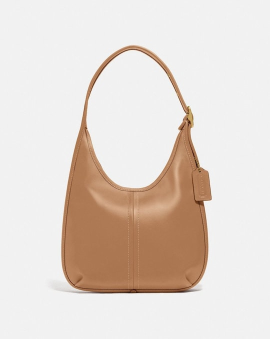 ERGO SHOULDER BAG IN ORIGINAL NATURAL LEATHER