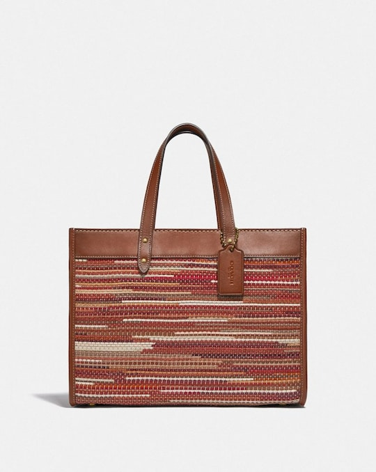 FIELD TOTE 30 WITH WEAVING