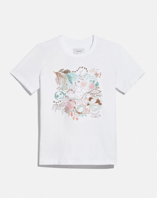 DOODLE DREAM T-SHIRT IN ORGANIC COTTON
