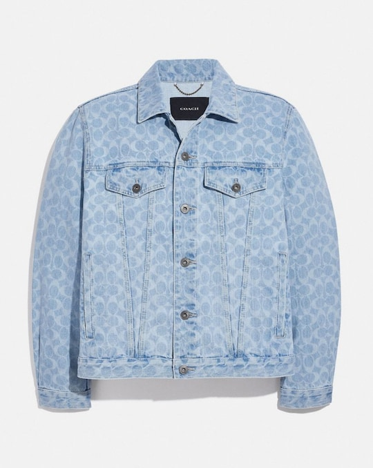 SIGNATURE DENIM JACKET