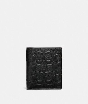 SLIM WALLET IN SIGNATURE LEATHER