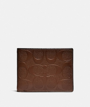 SLIM BILLFOLD WALLET IN SIGNATURE LEATHER
