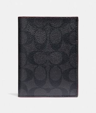 PASSPORT CASE IN SIGNATURE CANVAS