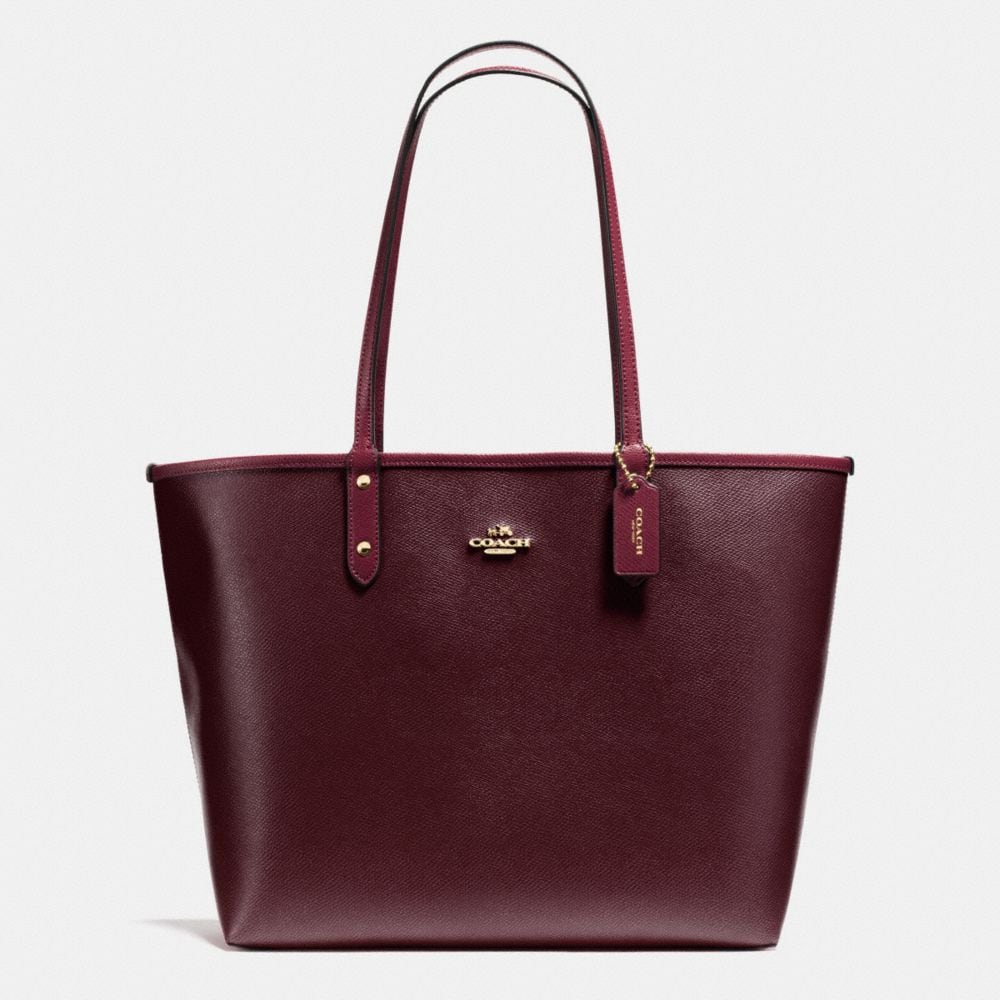 Coach Reversable 2 In 1 City Tote + Pouch
