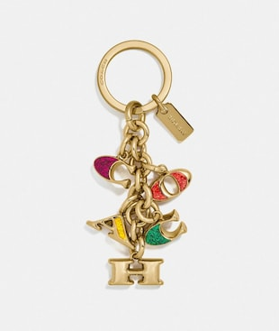 COACH MIX KEYFOB