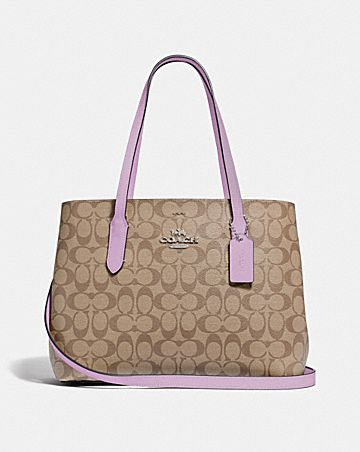 AVENUE CARRYALL IN SIGNATURE CANVAS