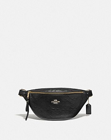 BELT BAG IN SIGNATURE LEATHER
